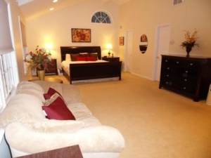Master Suite Staged to Sell