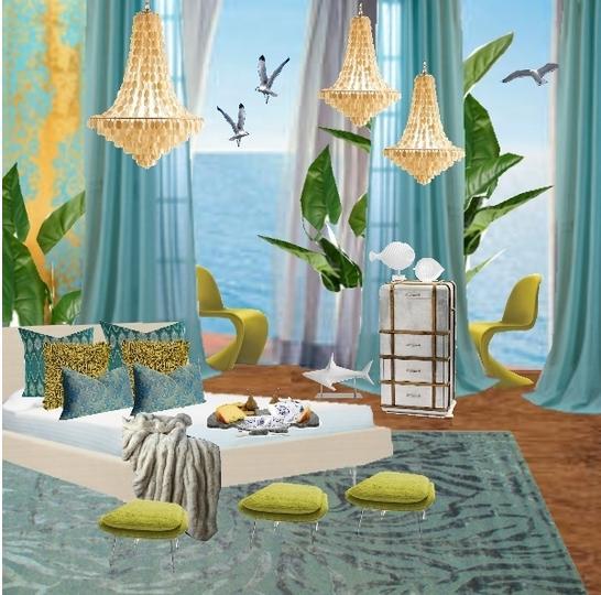 Spring Bedroom Design