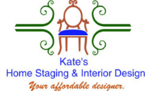 Kate's Home Staging & Interior Design Logo